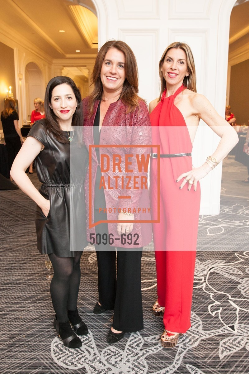 Erin Kahn, Kelley O'Brien, Jennifer Gilbert, 2015 GoRed for Women Luncheon, US, May 2nd, 2015,Drew Altizer, Drew Altizer Photography, full-service agency, private events, San Francisco photographer, photographer california