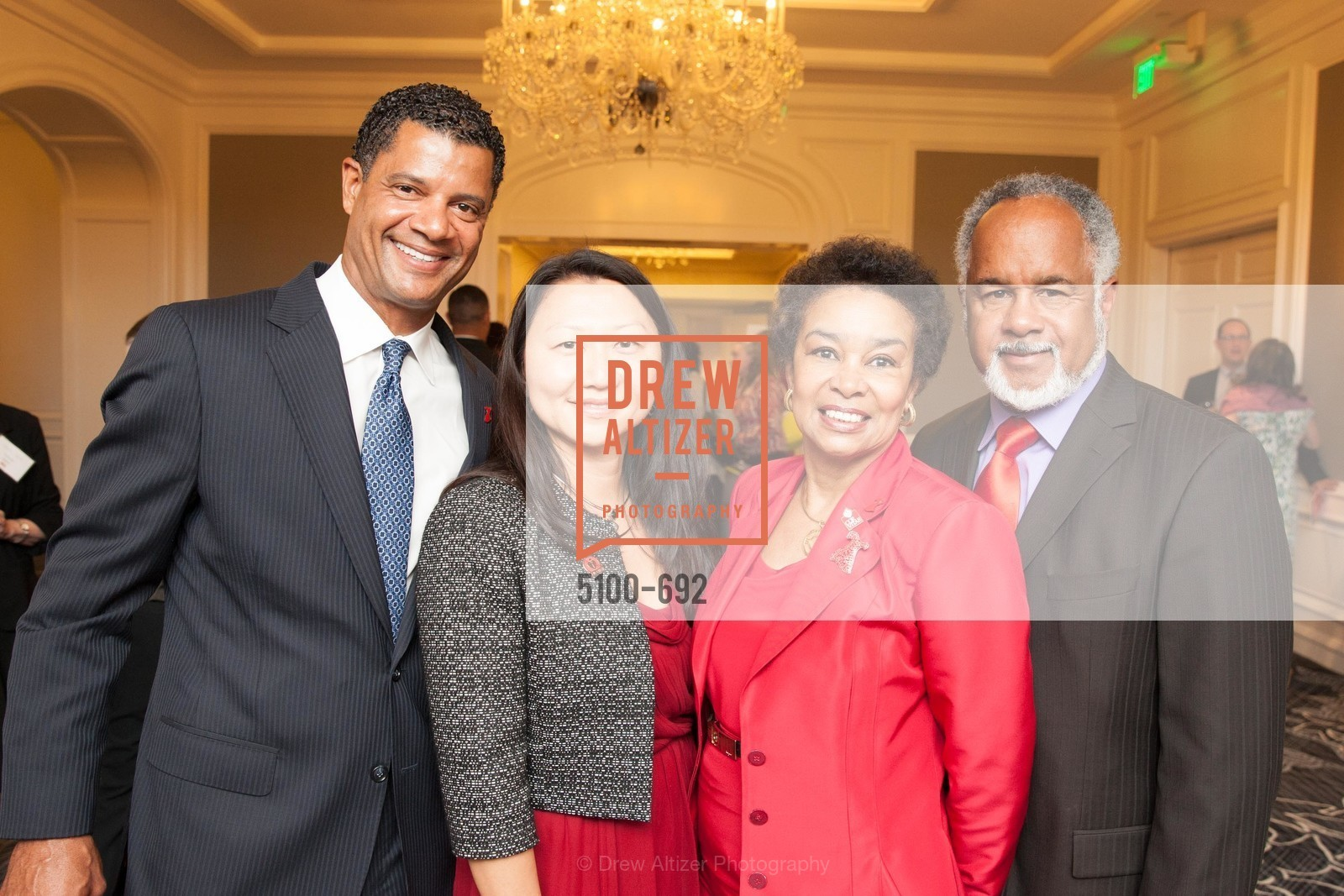 Jeff Thomas, Jenny Cheng, Anette Harris, Marc Loupe, 2015 GoRed for Women Luncheon, US, May 1st, 2015,Drew Altizer, Drew Altizer Photography, full-service agency, private events, San Francisco photographer, photographer california