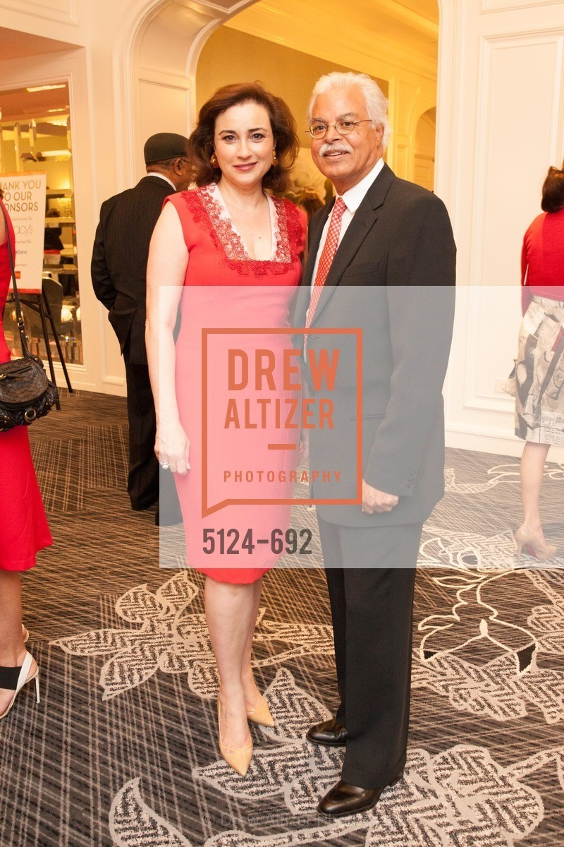 Dolly Chammas, Ronald Clark, 2015 GoRed for Women Luncheon, US, May 2nd, 2015,Drew Altizer, Drew Altizer Photography, full-service event agency, private events, San Francisco photographer, photographer California