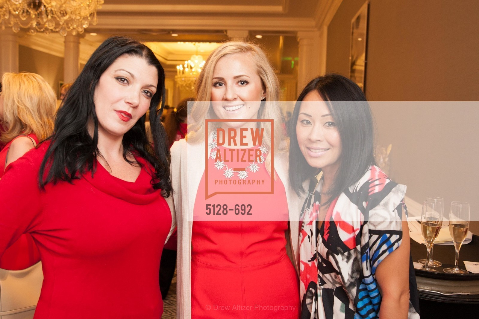 Lisa Capalano, Diana Reck, Candace Fukuga, 2015 GoRed for Women Luncheon, US, May 2nd, 2015