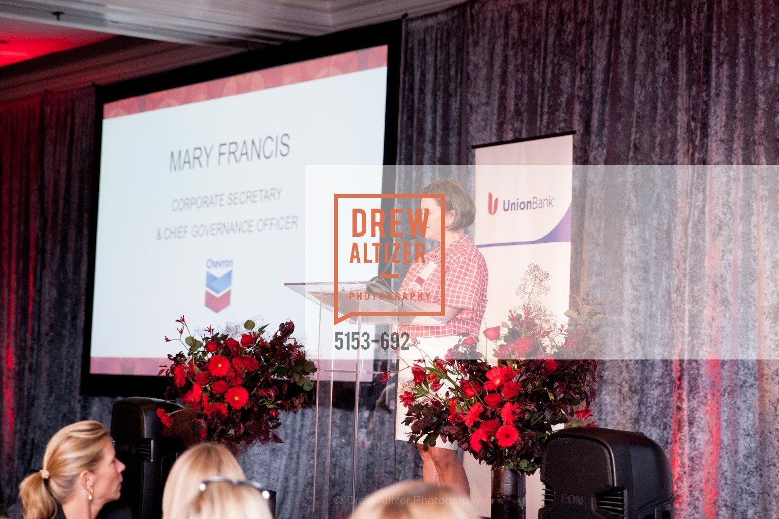 Mary Francis, 2015 GoRed for Women Luncheon, US, May 1st, 2015,Drew Altizer, Drew Altizer Photography, full-service agency, private events, San Francisco photographer, photographer california