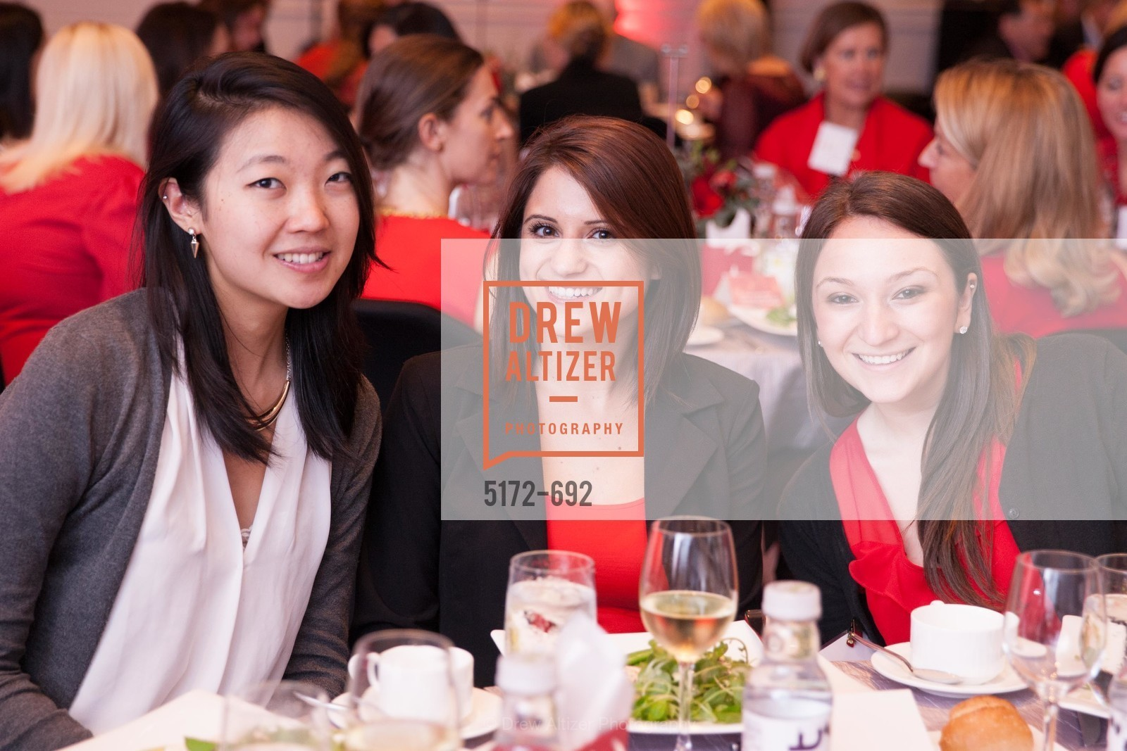 Angela Lee, Rachel Hatch, Jamie Rappaport, 2015 GoRed for Women Luncheon, US, May 2nd, 2015,Drew Altizer, Drew Altizer Photography, full-service agency, private events, San Francisco photographer, photographer california