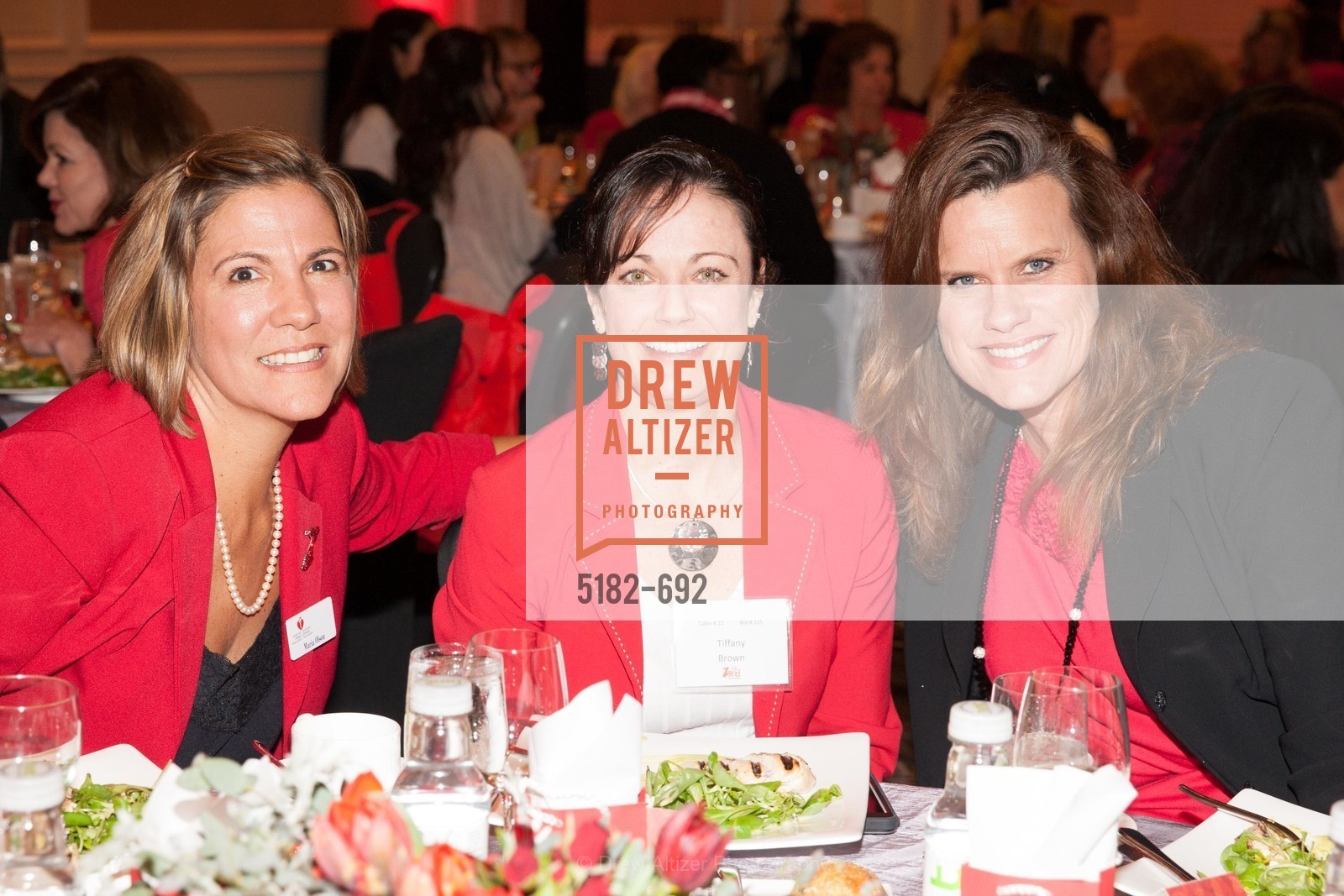 Maria Olson, Tiffany Brown, Agnes McGlone, 2015 GoRed for Women Luncheon, US, May 2nd, 2015,Drew Altizer, Drew Altizer Photography, full-service agency, private events, San Francisco photographer, photographer california