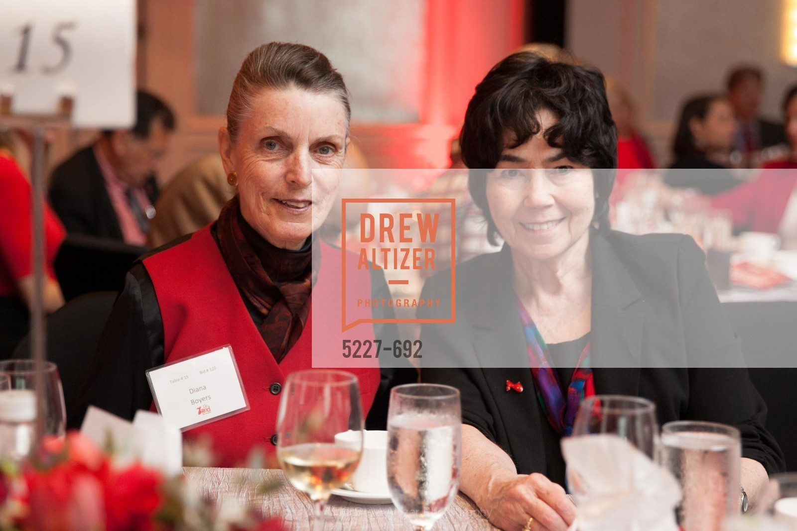 Diana Boyers, Conchita Miller, 2015 GoRed for Women Luncheon, US, May 2nd, 2015,Drew Altizer, Drew Altizer Photography, full-service agency, private events, San Francisco photographer, photographer california
