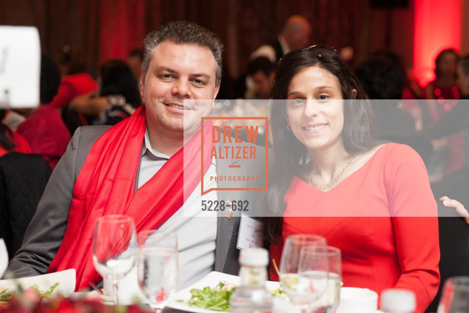 Liviu Klein, Lina Arnaout, 2015 GoRed for Women Luncheon, US, May 1st, 2015,Drew Altizer, Drew Altizer Photography, full-service agency, private events, San Francisco photographer, photographer california
