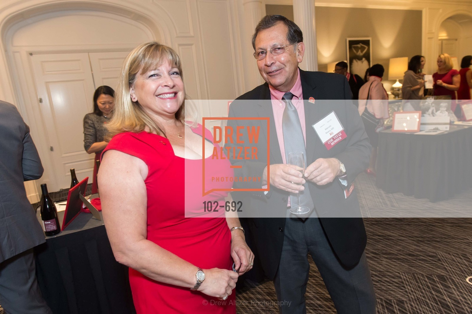 Nancy Pinner, Marcelo Rivera, 2015 GoRed for Women Luncheon, US, May 2nd, 2015,Drew Altizer, Drew Altizer Photography, full-service agency, private events, San Francisco photographer, photographer california