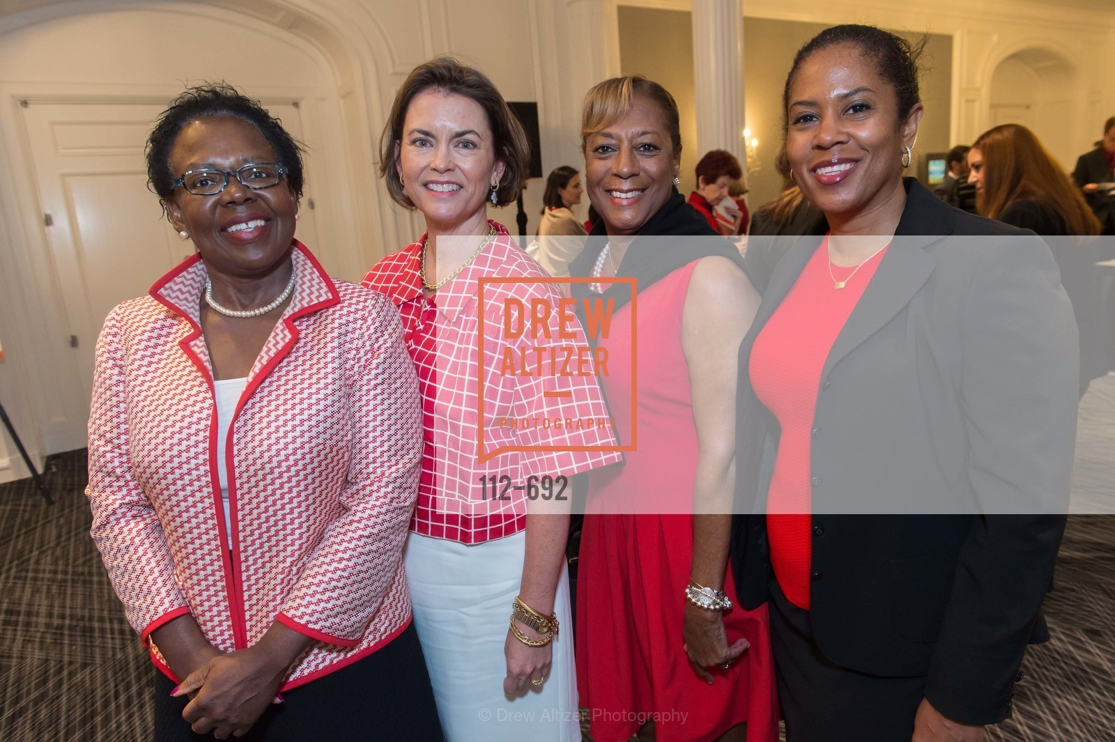 Audrey Drichi, Mary Francis, Laraine Daye, Josetta James, 2015 GoRed for Women Luncheon, US, May 2nd, 2015,Drew Altizer, Drew Altizer Photography, full-service agency, private events, San Francisco photographer, photographer california