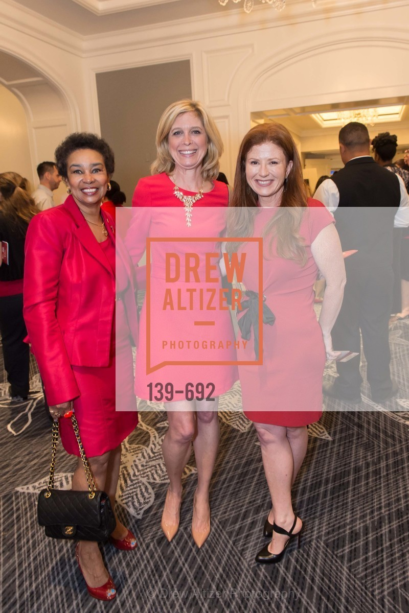 Anette Harris, Debbie Messemer, Kara Goldin, 2015 GoRed for Women Luncheon, US, May 2nd, 2015,Drew Altizer, Drew Altizer Photography, full-service agency, private events, San Francisco photographer, photographer california