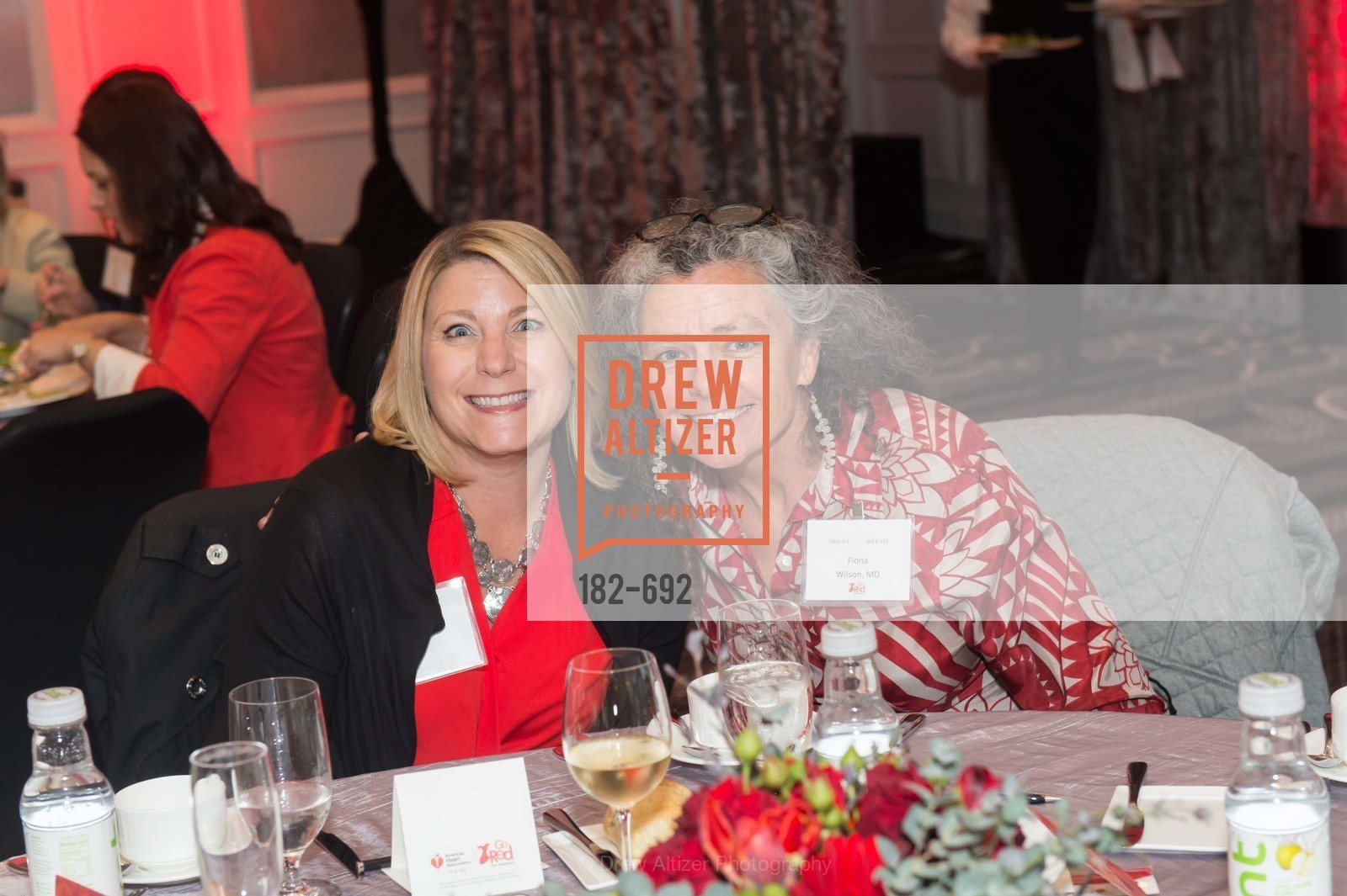 Pamela Laesch, Fiona Wilson, 2015 GoRed for Women Luncheon, US, May 2nd, 2015,Drew Altizer, Drew Altizer Photography, full-service agency, private events, San Francisco photographer, photographer california