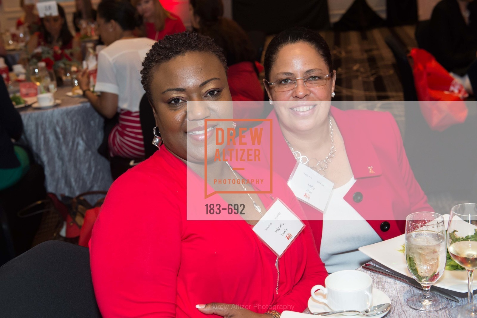 Michelle Lewis, Libby Este, 2015 GoRed for Women Luncheon, US, May 2nd, 2015,Drew Altizer, Drew Altizer Photography, full-service agency, private events, San Francisco photographer, photographer california