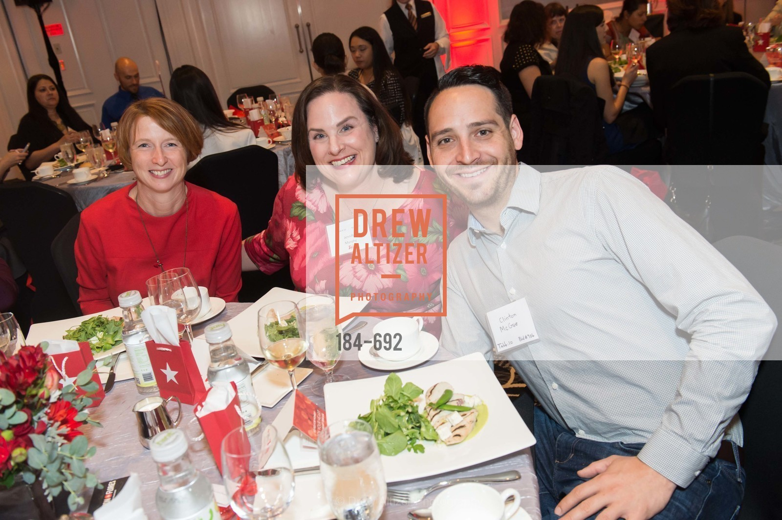 Marsha Scott, Jennifer Murphy, Clinton McGue, 2015 GoRed for Women Luncheon, US, May 2nd, 2015,Drew Altizer, Drew Altizer Photography, full-service agency, private events, San Francisco photographer, photographer california