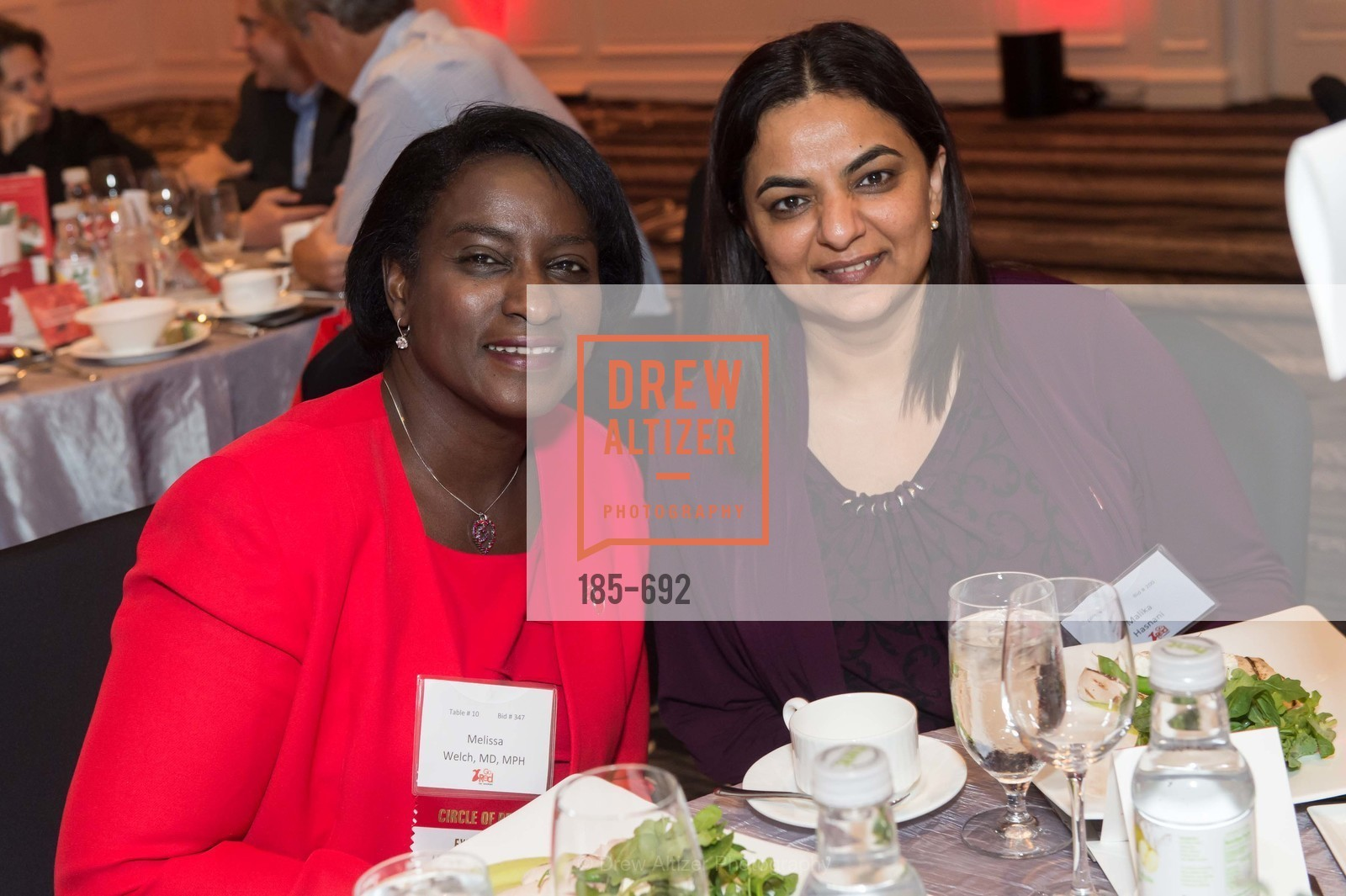 Melissa Welch, Malika Hasnani, 2015 GoRed for Women Luncheon, US, May 2nd, 2015,Drew Altizer, Drew Altizer Photography, full-service agency, private events, San Francisco photographer, photographer california