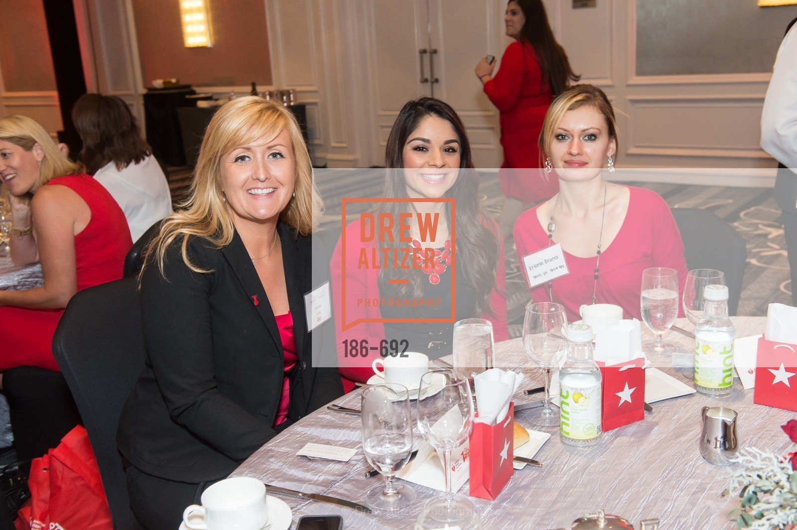 Andrea Long, Jessica Mendoza, Kristin Bruner, 2015 GoRed for Women Luncheon, US, May 2nd, 2015,Drew Altizer, Drew Altizer Photography, full-service agency, private events, San Francisco photographer, photographer california