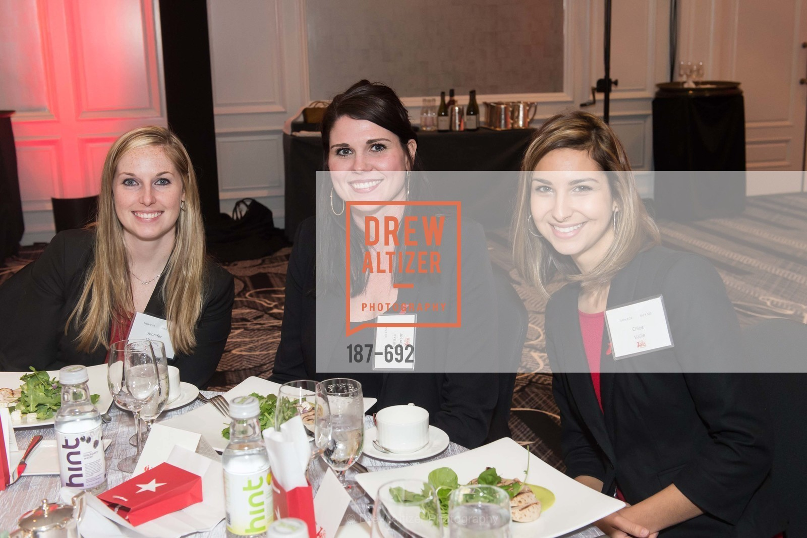 Jennifer Fletcher, Marissa Anderson, Chloe Vaille, 2015 GoRed for Women Luncheon, US, May 2nd, 2015,Drew Altizer, Drew Altizer Photography, full-service agency, private events, San Francisco photographer, photographer california