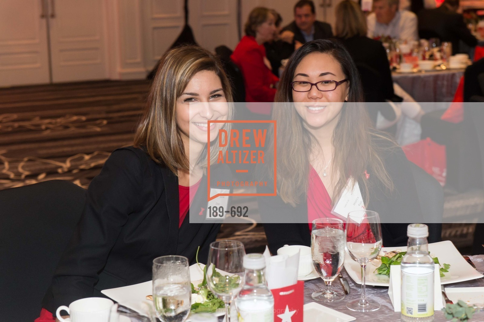 Chloe Vaille, Jessica Kuo, 2015 GoRed for Women Luncheon, US, May 1st, 2015,Drew Altizer, Drew Altizer Photography, full-service agency, private events, San Francisco photographer, photographer california