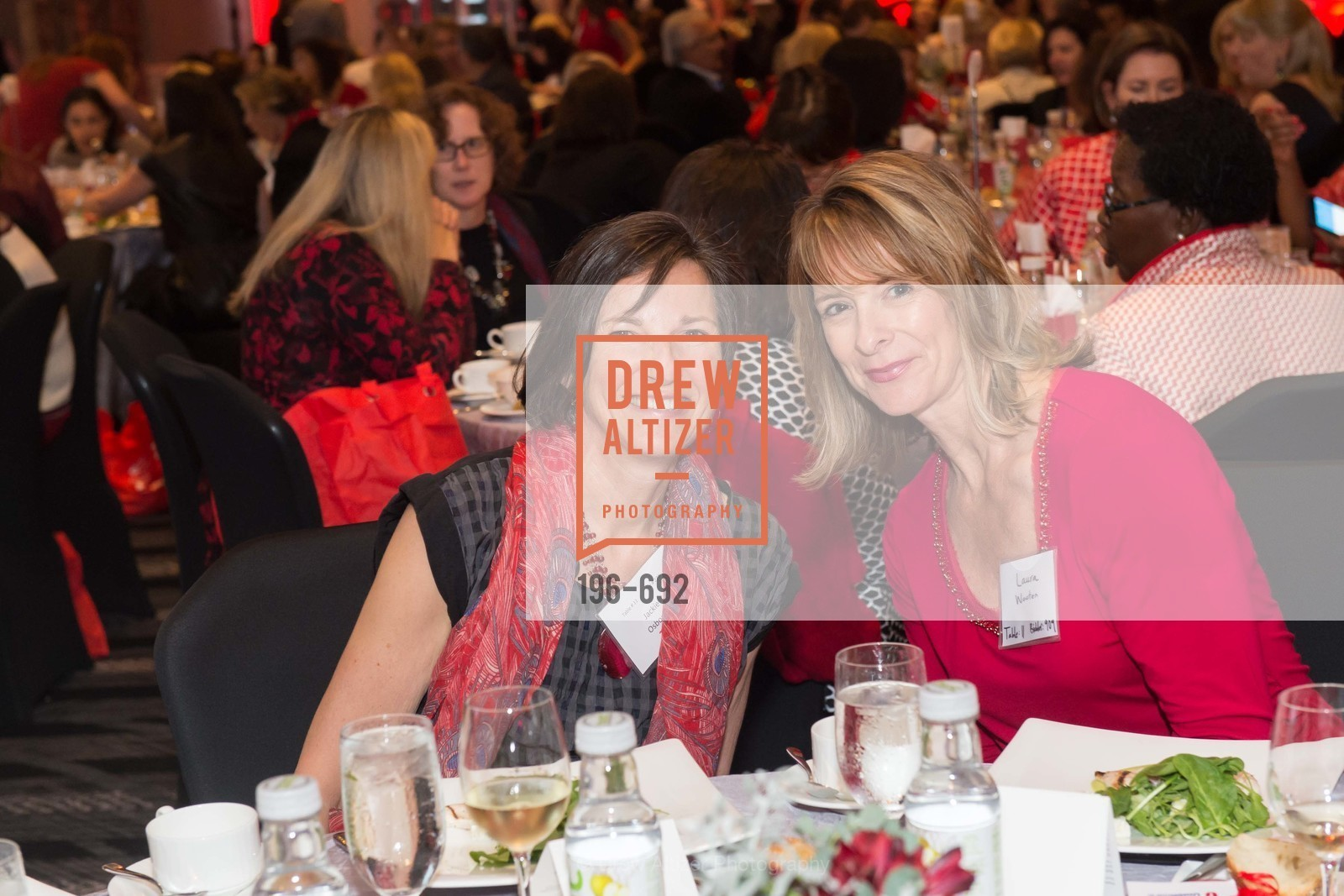 Jackie Osborn, Laura Westen, 2015 GoRed for Women Luncheon, US, May 1st, 2015,Drew Altizer, Drew Altizer Photography, full-service agency, private events, San Francisco photographer, photographer california
