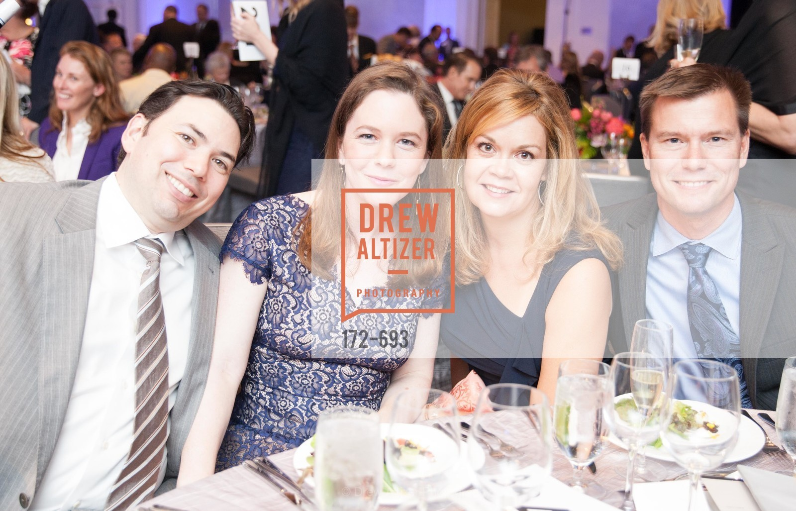 Morgan Lopez, Nicole Lopez, Wendy Coates, Dan Coates, SFCASA'S Fostering Change Gala:  Room Without A Roof, US, May 1st, 2015,Drew Altizer, Drew Altizer Photography, full-service agency, private events, San Francisco photographer, photographer california