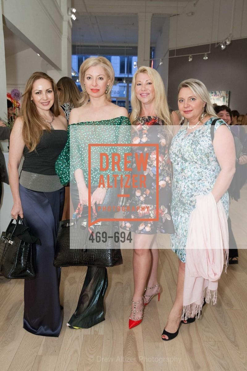 Anna Gemma, Sonya Molodetskaya, Lena Gikkas, Tatiana Shesterneva, VASILY VEIN Fashion Show, US, May 2nd, 2015