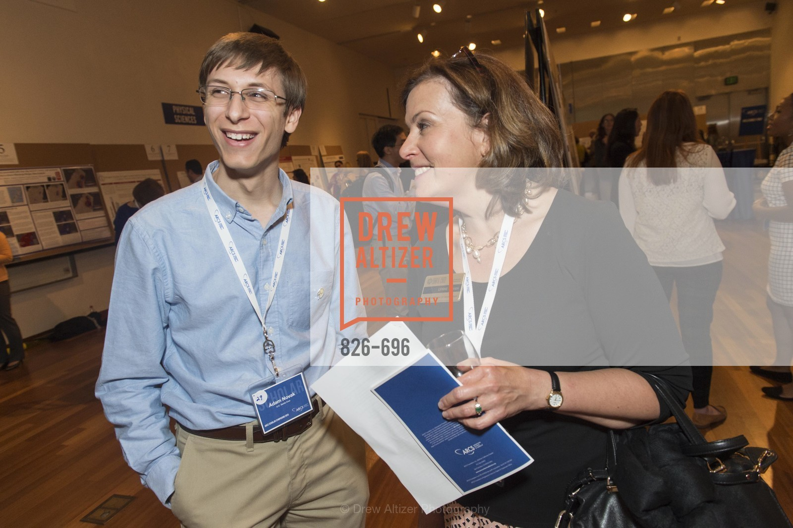 Adam Novak, Lynne Stoops, ARCS FOUNDATION Scholar Symposium, US, May 5th, 2015,Drew Altizer, Drew Altizer Photography, full-service agency, private events, San Francisco photographer, photographer california