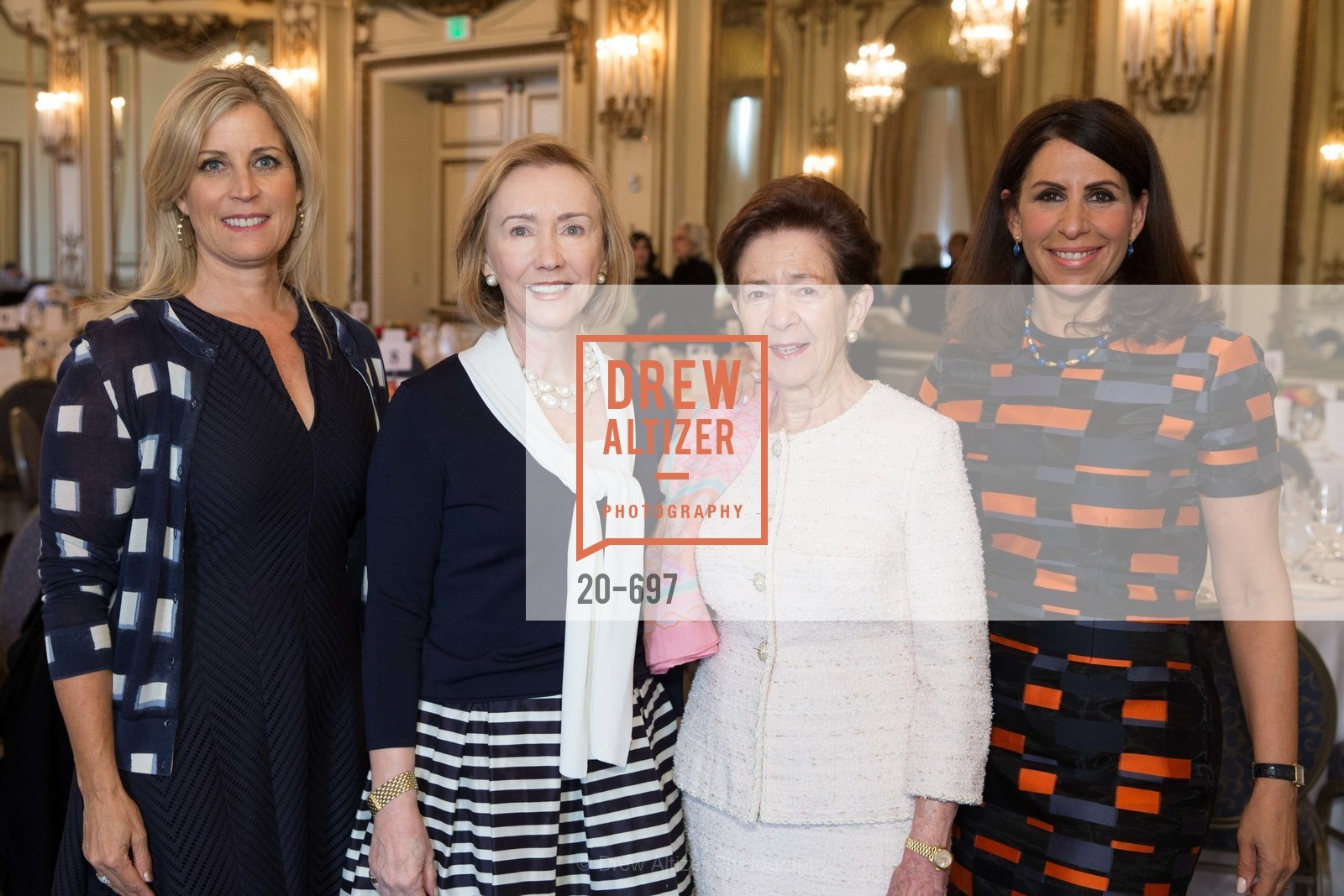 Jane Inch, Trish Otstott, Roselyne Swig, Lisa Grotts, JUNIOR LEAGUE OF SAN FRANCISCO's WATCH Luncheon, US, May 4th, 2015,Drew Altizer, Drew Altizer Photography, full-service agency, private events, San Francisco photographer, photographer california