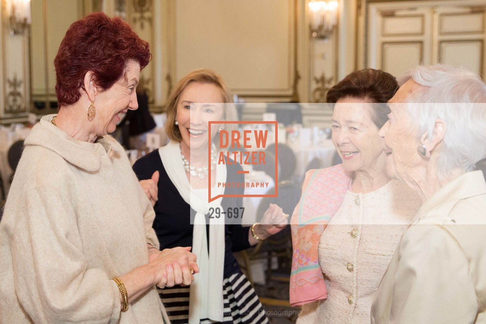 Susan Hoganson, Trish Otstott, Roselyne Swig, Peggy Montgomery, JUNIOR LEAGUE OF SAN FRANCISCO's WATCH Luncheon, US, May 4th, 2015,Drew Altizer, Drew Altizer Photography, full-service agency, private events, San Francisco photographer, photographer california
