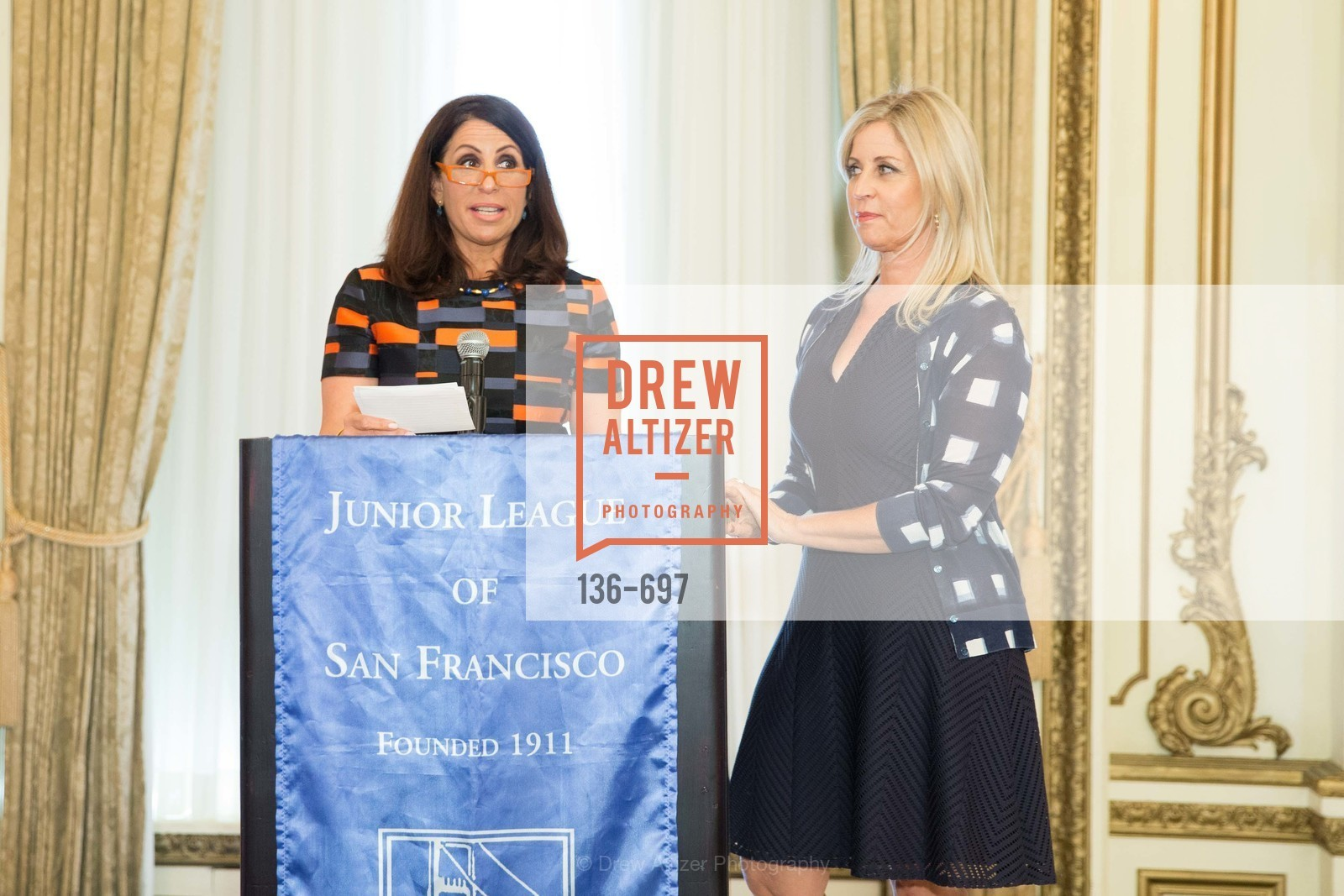 Lisa Grotts, Jane Inch, JUNIOR LEAGUE OF SAN FRANCISCO's WATCH Luncheon, US, May 5th, 2015,Drew Altizer, Drew Altizer Photography, full-service agency, private events, San Francisco photographer, photographer california