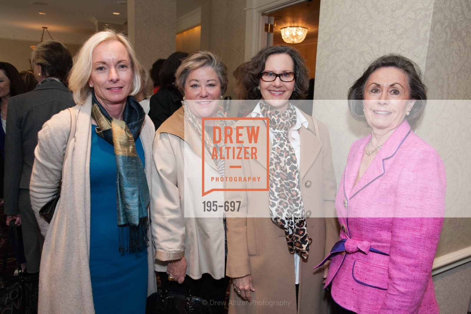 Janet Higgins, Susan Gearey, Leslie Tognazzini, Pat Smith, JUNIOR LEAGUE OF SAN FRANCISCO's WATCH Luncheon, US, May 4th, 2015,Drew Altizer, Drew Altizer Photography, full-service agency, private events, San Francisco photographer, photographer california