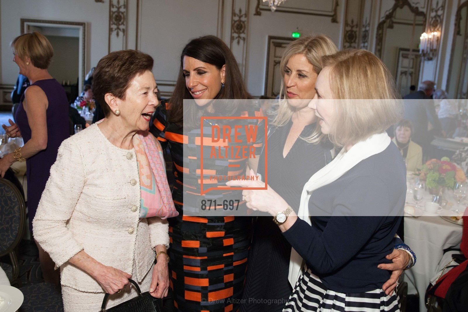 Roselyne Swig, Lisa Grotts, Jane Inch, Trish Otstott, JUNIOR LEAGUE OF SAN FRANCISCO's WATCH Luncheon, US, May 4th, 2015,Drew Altizer, Drew Altizer Photography, full-service agency, private events, San Francisco photographer, photographer california