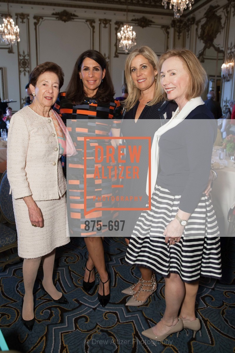 Roselyne Swig, Lisa Grotts, Jane Inch, Trish Otstott, JUNIOR LEAGUE OF SAN FRANCISCO's WATCH Luncheon, US, May 5th, 2015,Drew Altizer, Drew Altizer Photography, full-service agency, private events, San Francisco photographer, photographer california