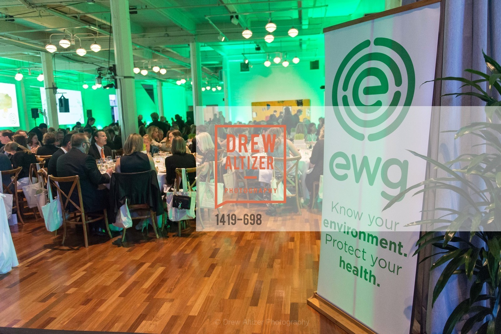 Atmospehre, EWG's 6th Annual Earth Dinner, US, May 5th, 2015,Drew Altizer, Drew Altizer Photography, full-service agency, private events, San Francisco photographer, photographer california