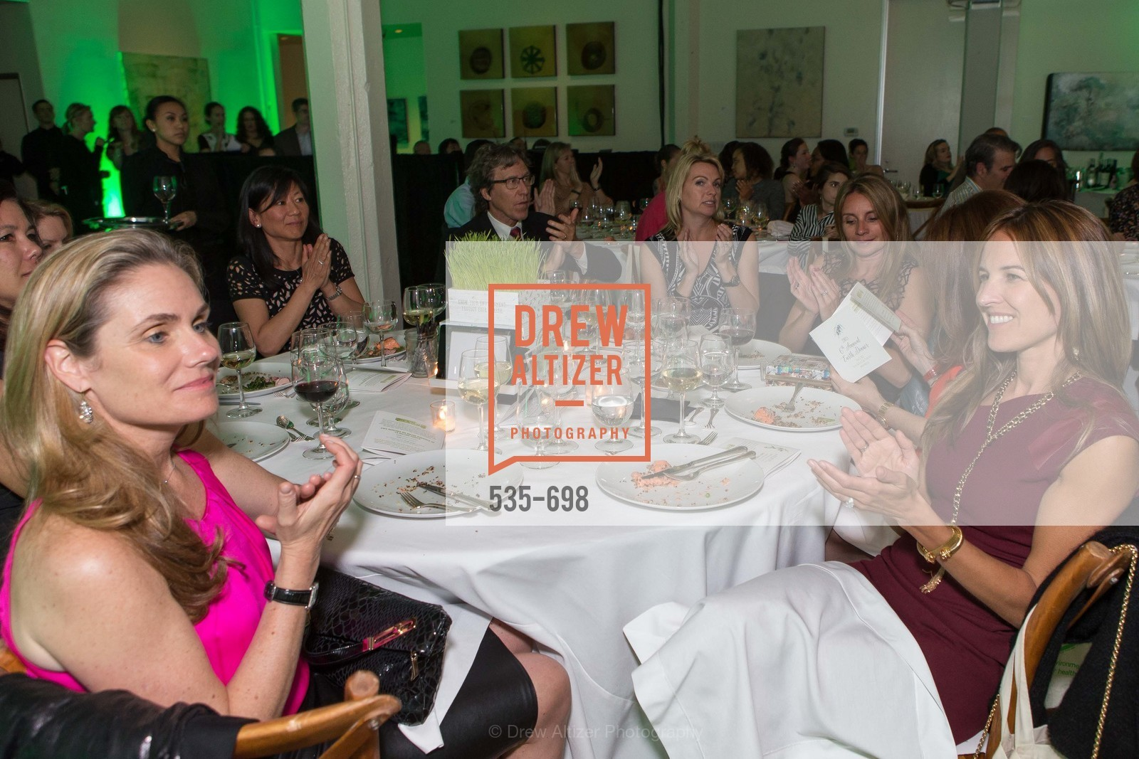 Michelle Keene, Stephanie Tomao, EWG's 6th Annual Earth Dinner, US, May 5th, 2015,Drew Altizer, Drew Altizer Photography, full-service agency, private events, San Francisco photographer, photographer california
