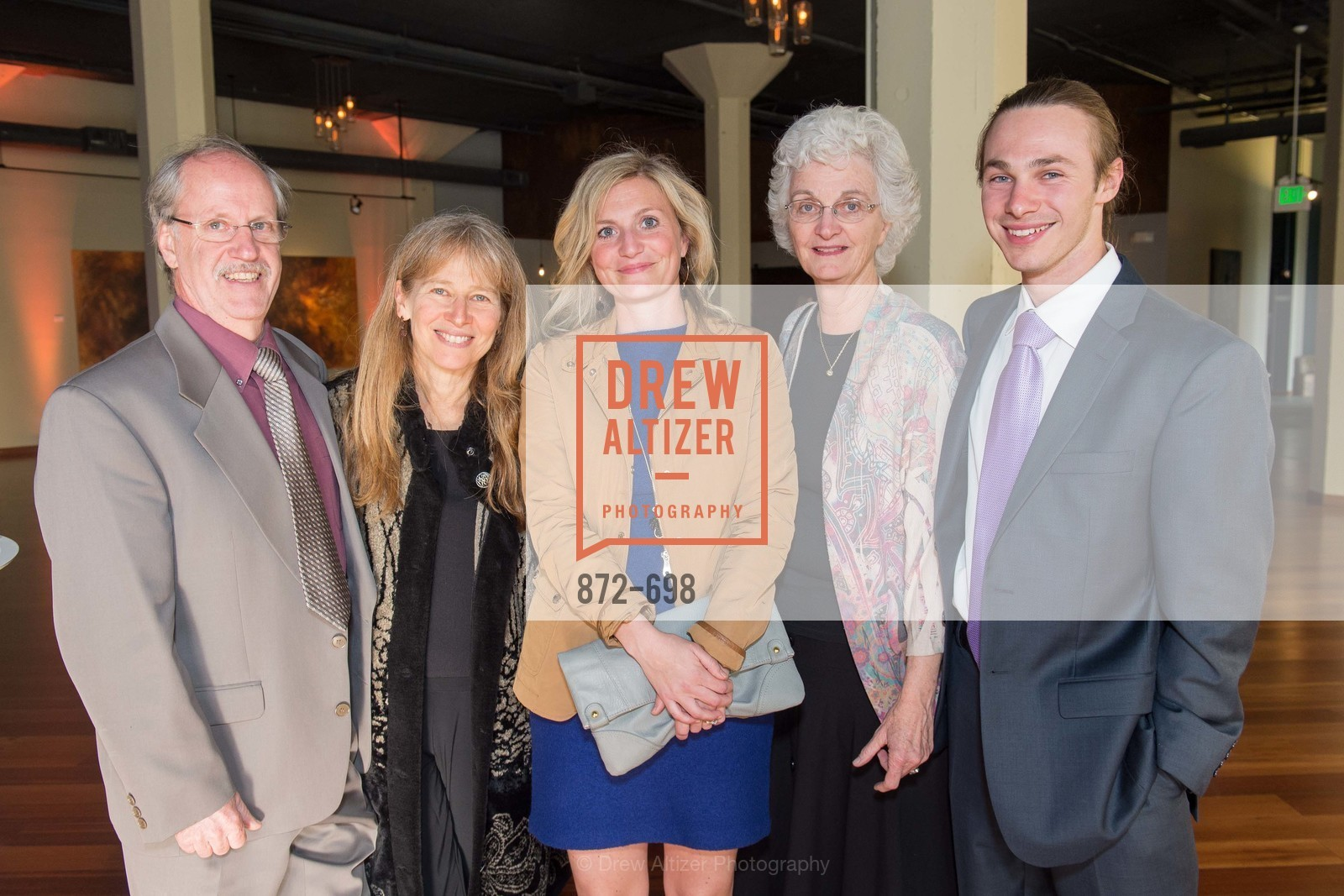 Milton McClaskey, Audrey Spector, Robyn Komar, Carolyn Lyle, Andrew Northrup, EWG's 6th Annual Earth Dinner, US, May 6th, 2015,Drew Altizer, Drew Altizer Photography, full-service agency, private events, San Francisco photographer, photographer california