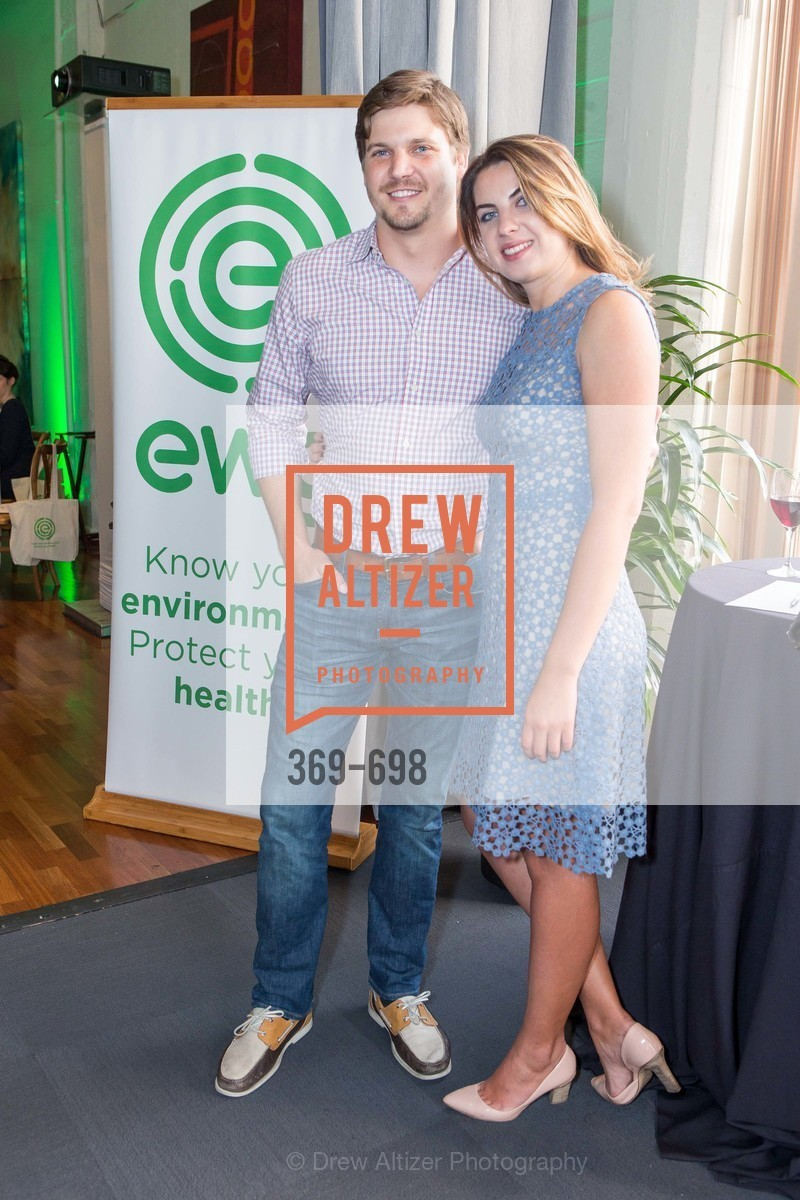 Blake Stanley, Catherine Yakubovich, EWG's 6th Annual Earth Dinner, US, May 6th, 2015,Drew Altizer, Drew Altizer Photography, full-service agency, private events, San Francisco photographer, photographer california