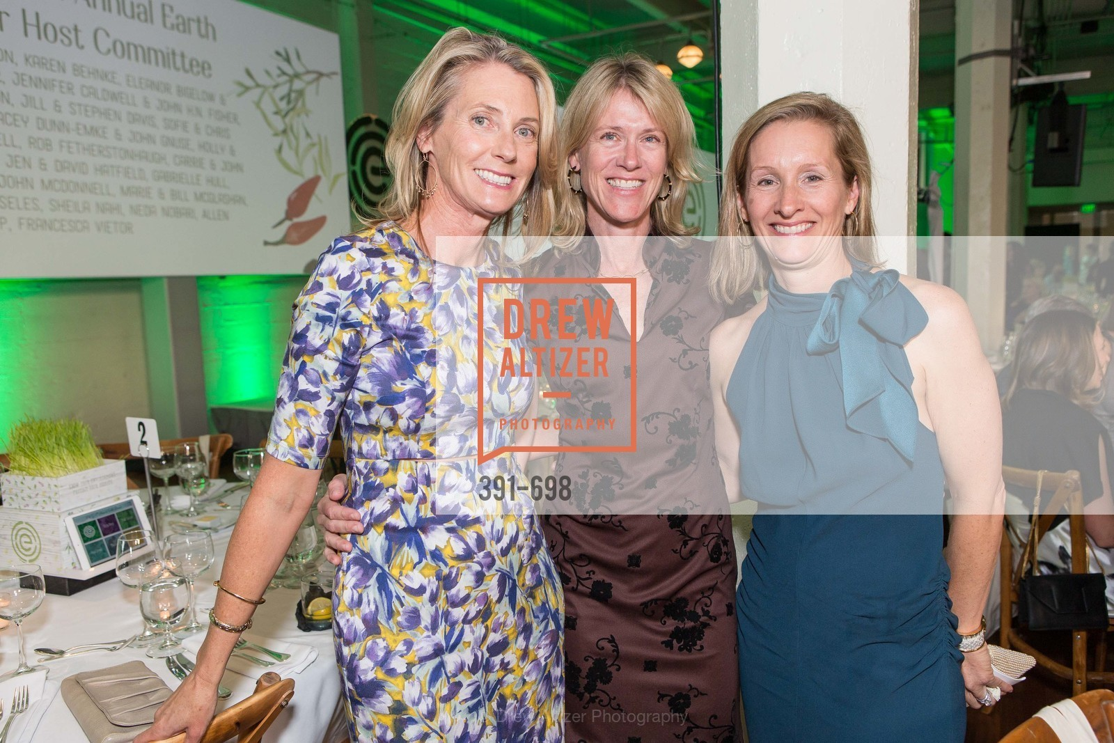 Jennifer Caldwell, Evie Davis, Carol McDonnell, EWG's 6th Annual Earth Dinner, US, May 6th, 2015,Drew Altizer, Drew Altizer Photography, full-service agency, private events, San Francisco photographer, photographer california