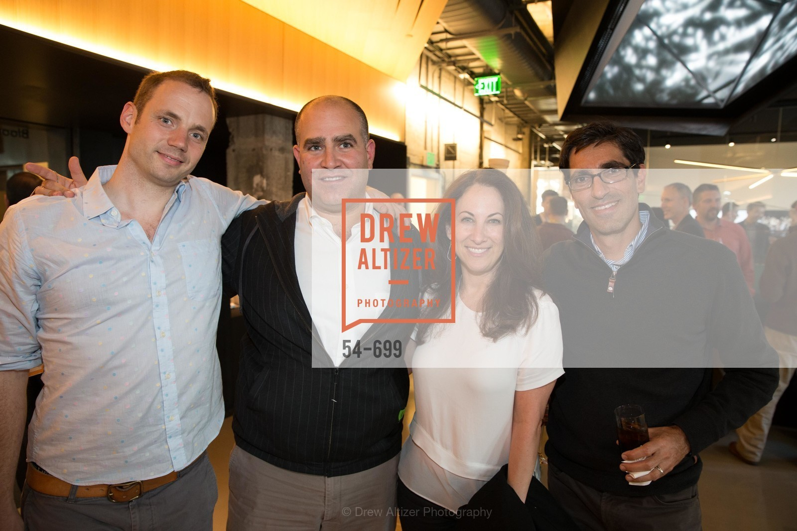 Adrien Treuille, Roy Bahat, Debbie Landan, Terry Angelos, BLOOMBERG Office Opening, US, May 7th, 2015,Drew Altizer, Drew Altizer Photography, full-service agency, private events, San Francisco photographer, photographer california