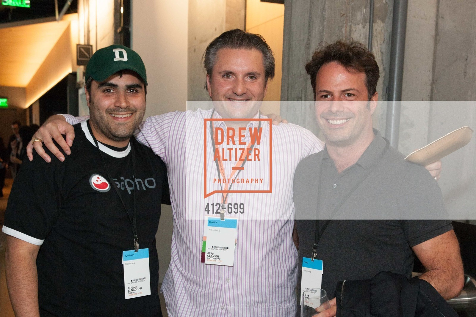 Fouad Elnaggar, Jeff Clavier, Peter Yared, BLOOMBERG Office Opening, US, May 7th, 2015,Drew Altizer, Drew Altizer Photography, full-service agency, private events, San Francisco photographer, photographer california