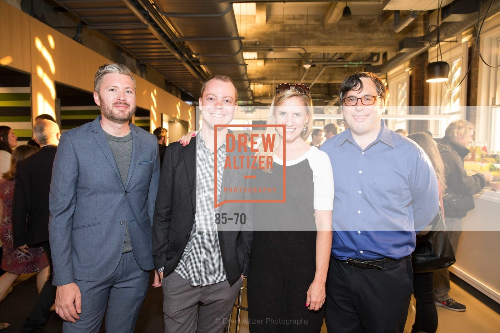 Mike Dunn, Zach Haehn, Terra Carmichael, Harry McCracken, Bloomberg Tech Hosts New San Francisco Office Opening Party, 140 Montgomery Street, May 6th, 2015,Drew Altizer, Drew Altizer Photography, full-service agency, private events, San Francisco photographer, photographer california
