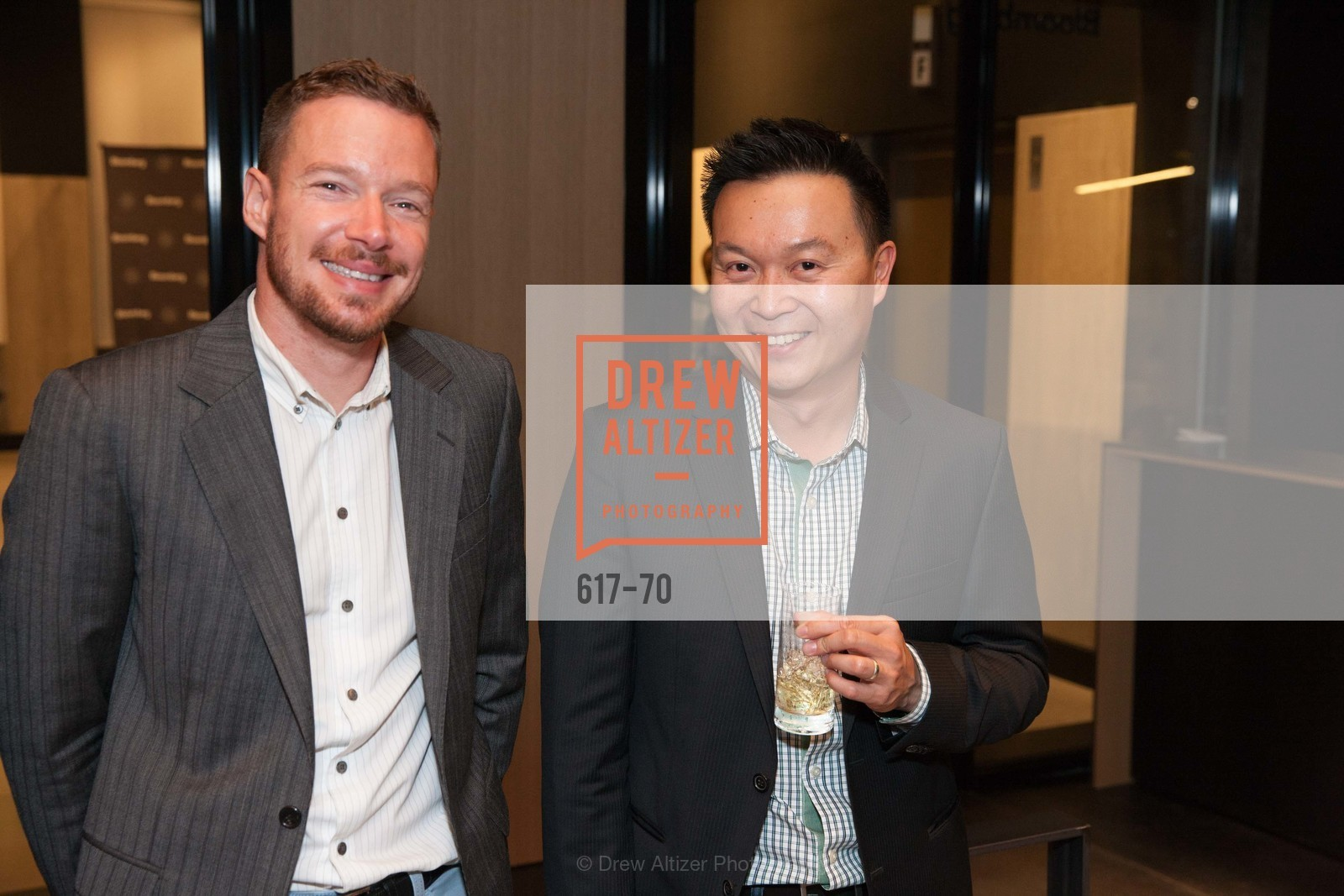 Pierre Berral, Kevin Ho, Bloomberg Tech Hosts New San Francisco Office Opening Party, 140 Montgomery Street, May 6th, 2015,Drew Altizer, Drew Altizer Photography, full-service event agency, private events, San Francisco photographer, photographer California