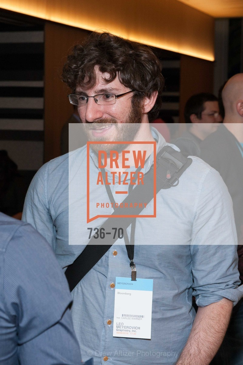Leo Meyerovich, Bloomberg Tech Hosts New San Francisco Office Opening Party, 140 Montgomery Street, May 6th, 2015,Drew Altizer, Drew Altizer Photography, full-service agency, private events, San Francisco photographer, photographer california