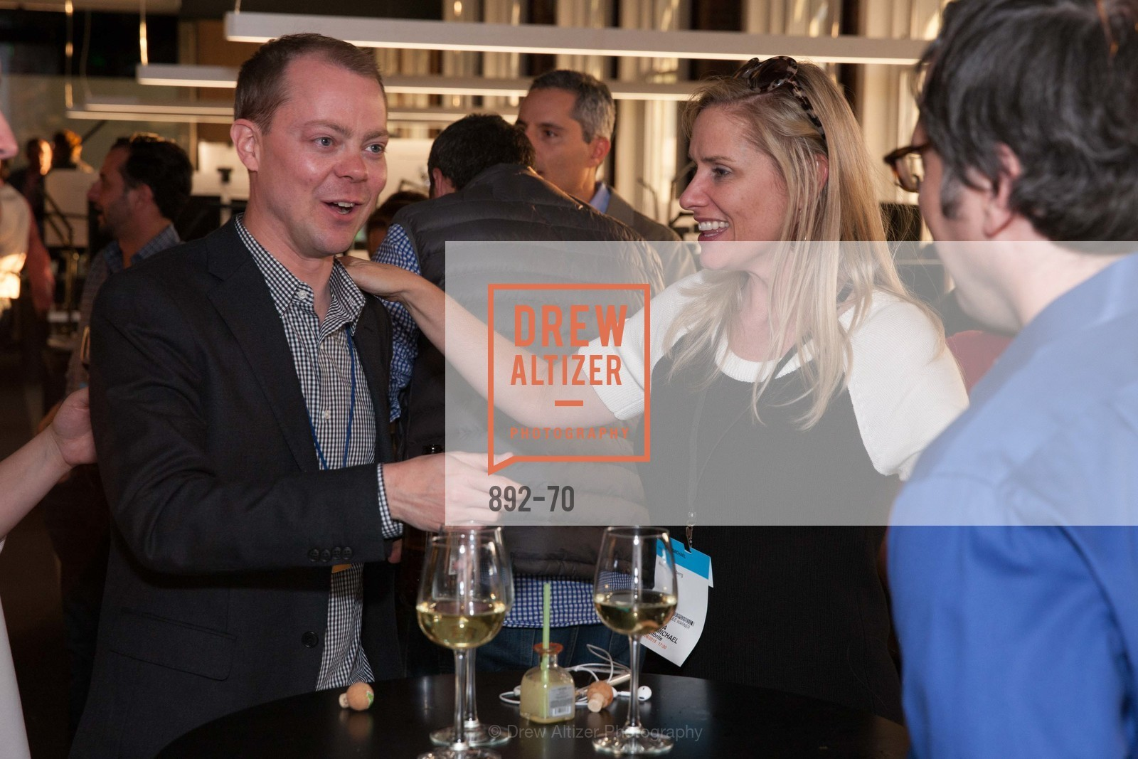 Zach Haehm, Terra Carmichael, Bloomberg Tech Hosts New San Francisco Office Opening Party, 140 Montgomery Street, May 6th, 2015,Drew Altizer, Drew Altizer Photography, full-service agency, private events, San Francisco photographer, photographer california