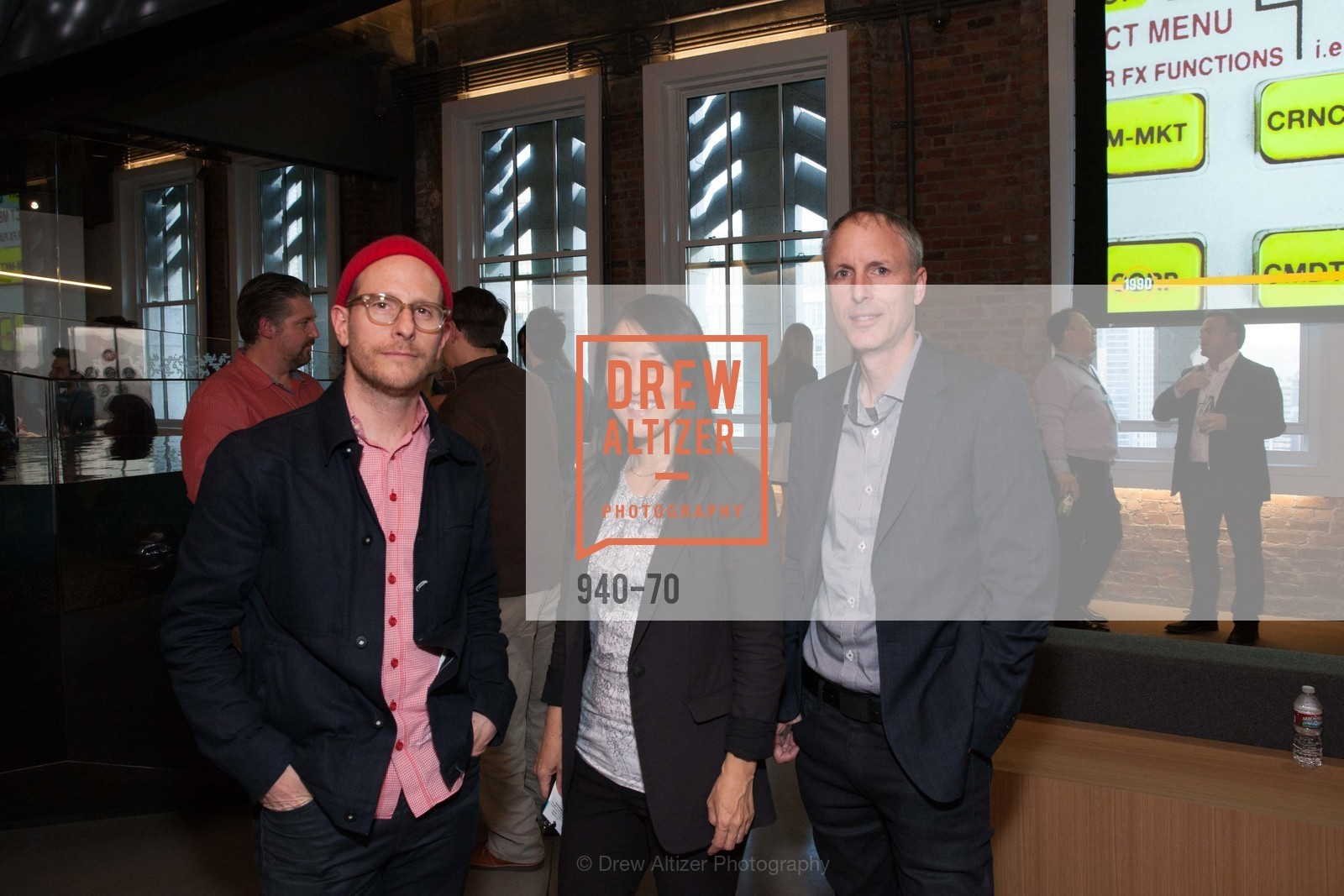 Eric Heiman, Lisa Iwamoto, Craig Scott, Bloomberg Tech Hosts New San Francisco Office Opening Party, 140 Montgomery Street, May 6th, 2015,Drew Altizer, Drew Altizer Photography, full-service agency, private events, San Francisco photographer, photographer california