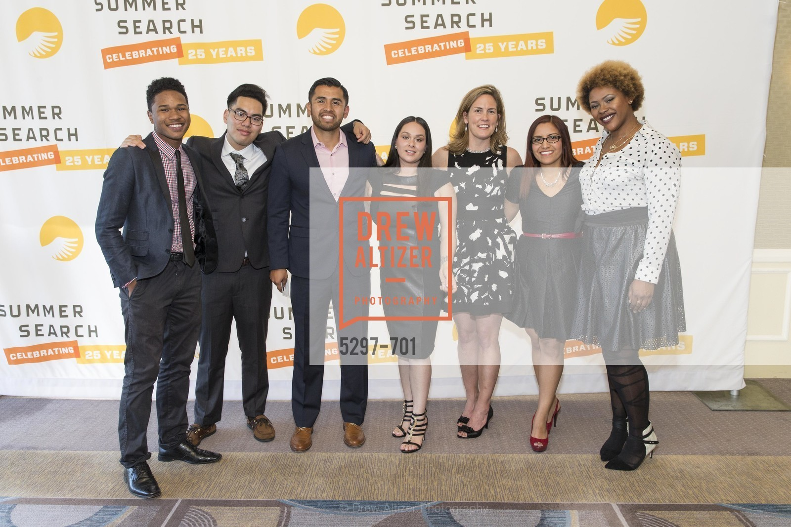 Ibrahim Balde, Josh Dela Cruz, Alejandro Nuno, Marcela Azucar, Lindsay Hower, Ana Baires Mira, Savannah Hudson, SUMMER SEARCH San Francisco 25th Anniversary, US, May 6th, 2015,Drew Altizer, Drew Altizer Photography, full-service agency, private events, San Francisco photographer, photographer california