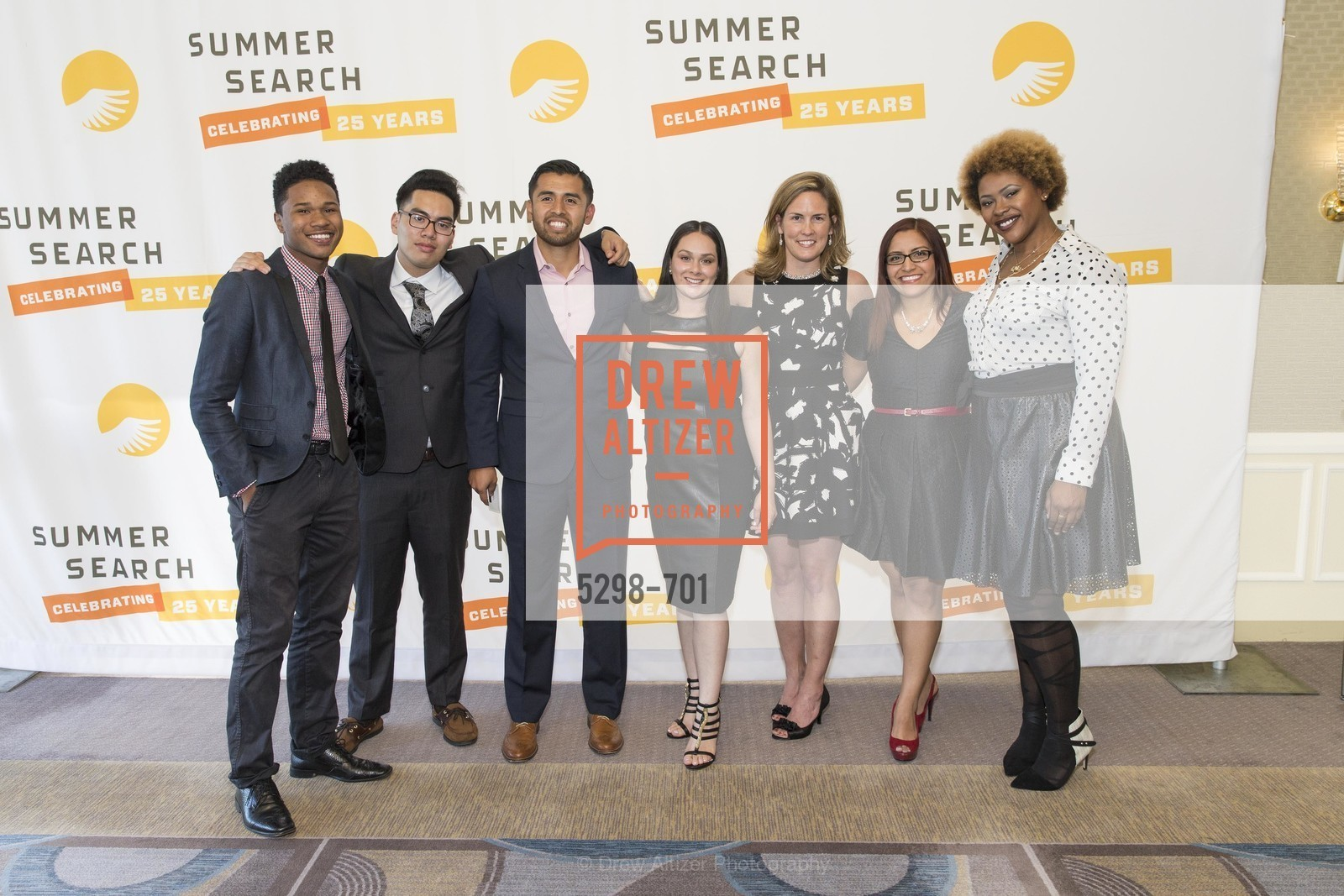 Ibrahim Balde, Josh Dela Cruz, Alejandro Nuno, Marcela Azucar, Lindsay Hower, Ana Baires Mira, Savannah Hudson, SUMMER SEARCH San Francisco 25th Anniversary, US, May 7th, 2015,Drew Altizer, Drew Altizer Photography, full-service agency, private events, San Francisco photographer, photographer california