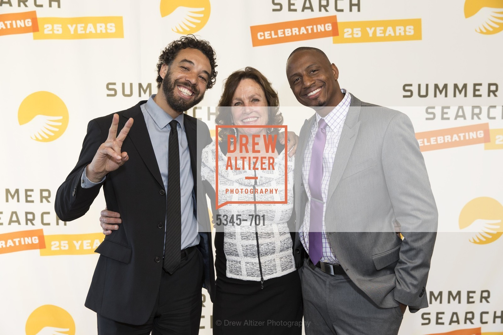 Jabali Sawicki, Linda Mornell, Carlton Colbert, SUMMER SEARCH San Francisco 25th Anniversary, US, May 7th, 2015,Drew Altizer, Drew Altizer Photography, full-service agency, private events, San Francisco photographer, photographer california