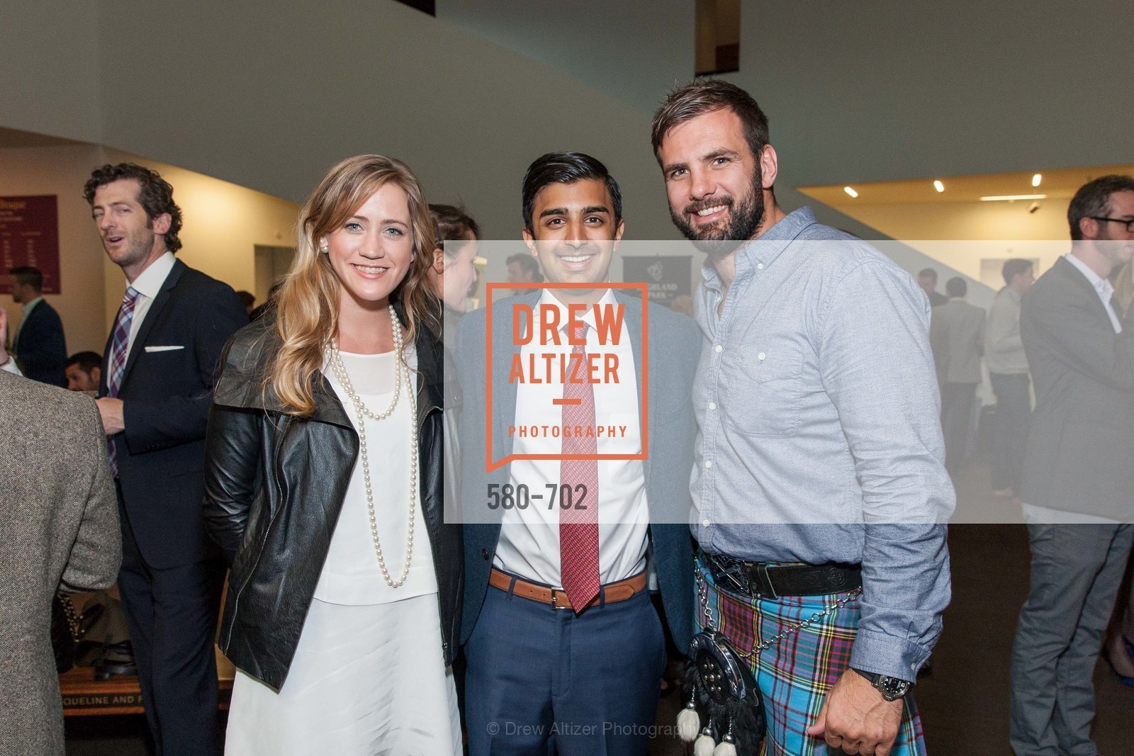 Caroline Langley, Rishi Dixit, William Lipp, ARTPOINT:  Masterpieces from the National Galleries of Scotland and Scotch Tastings, US, May 8th, 2015,Drew Altizer, Drew Altizer Photography, full-service agency, private events, San Francisco photographer, photographer california