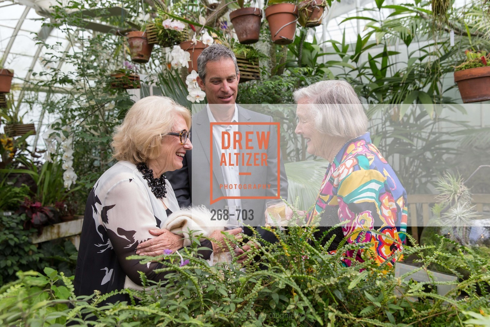 Cynthia Molstead, Eric Anderson, Marianne Peterson, CONSERVATORY OF FLOWERS Presents