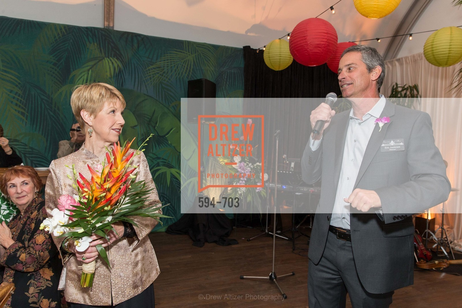 Martha Woollomes, Eric Anderson, CONSERVATORY OF FLOWERS Presents