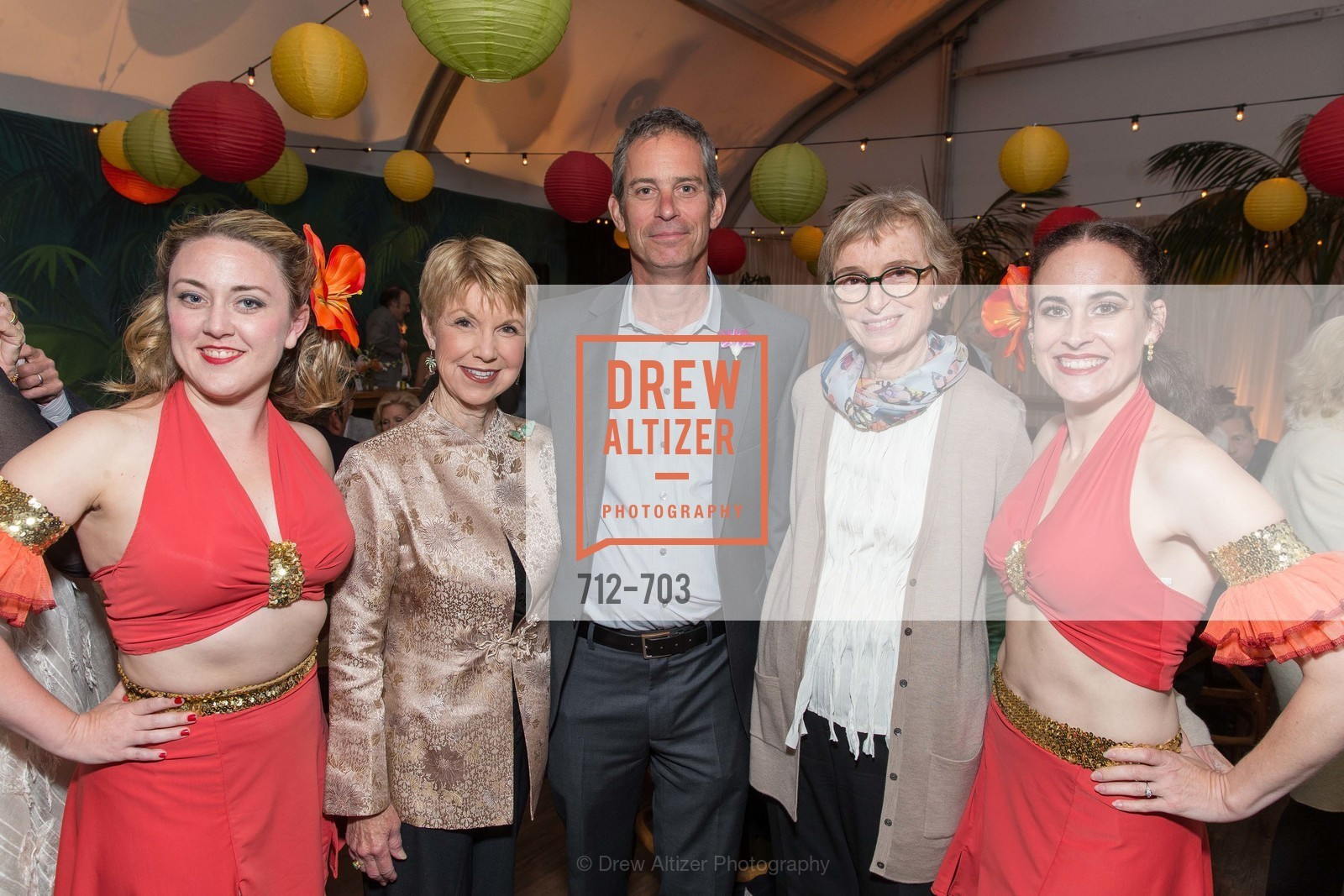Liz Elton, Martha Woollomes, Eric Anderson, Sue Ann Schiff, Angie Major, CONSERVATORY OF FLOWERS Presents
