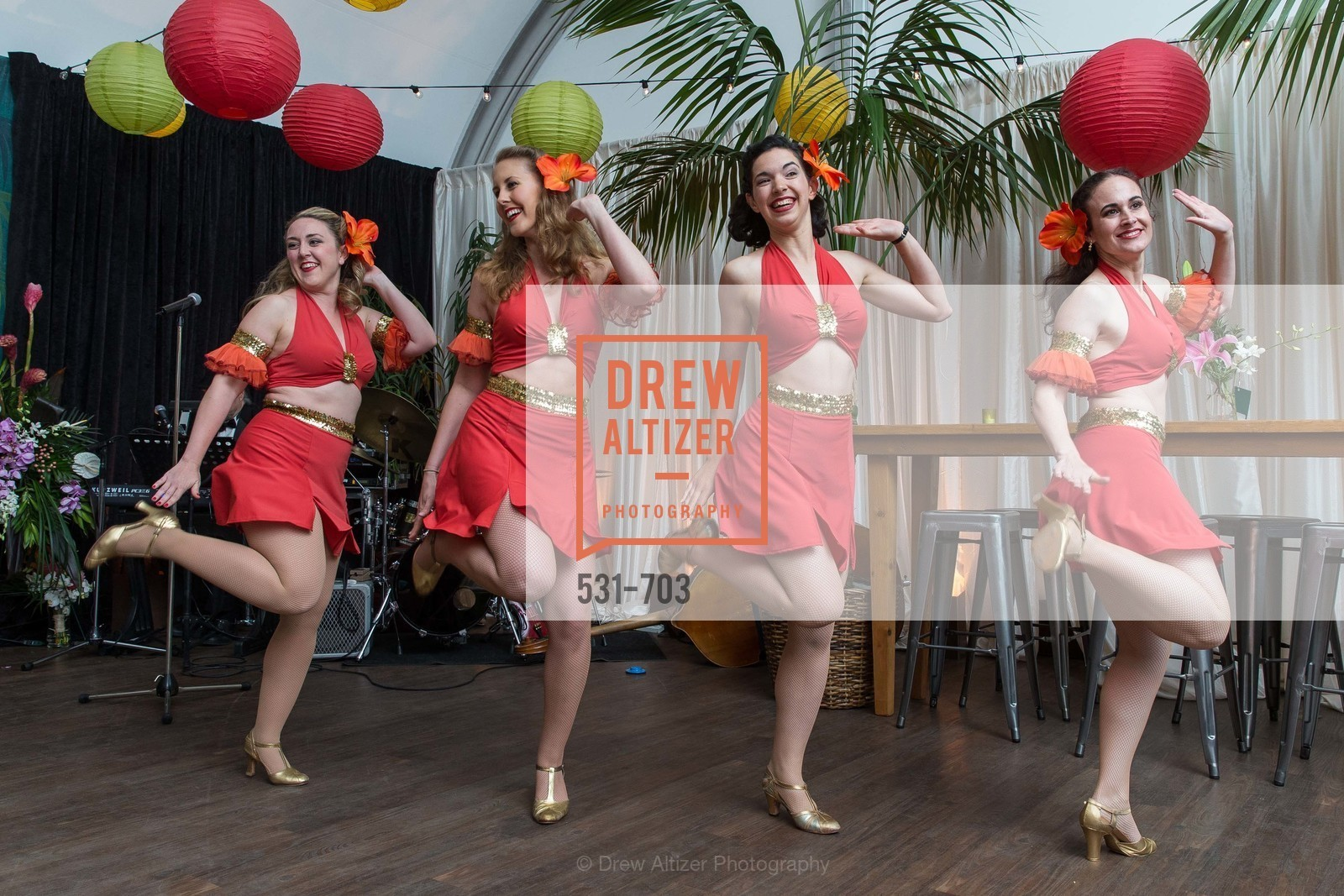 Performance By Deco Belles, CONSERVATORY OF FLOWERS Presents