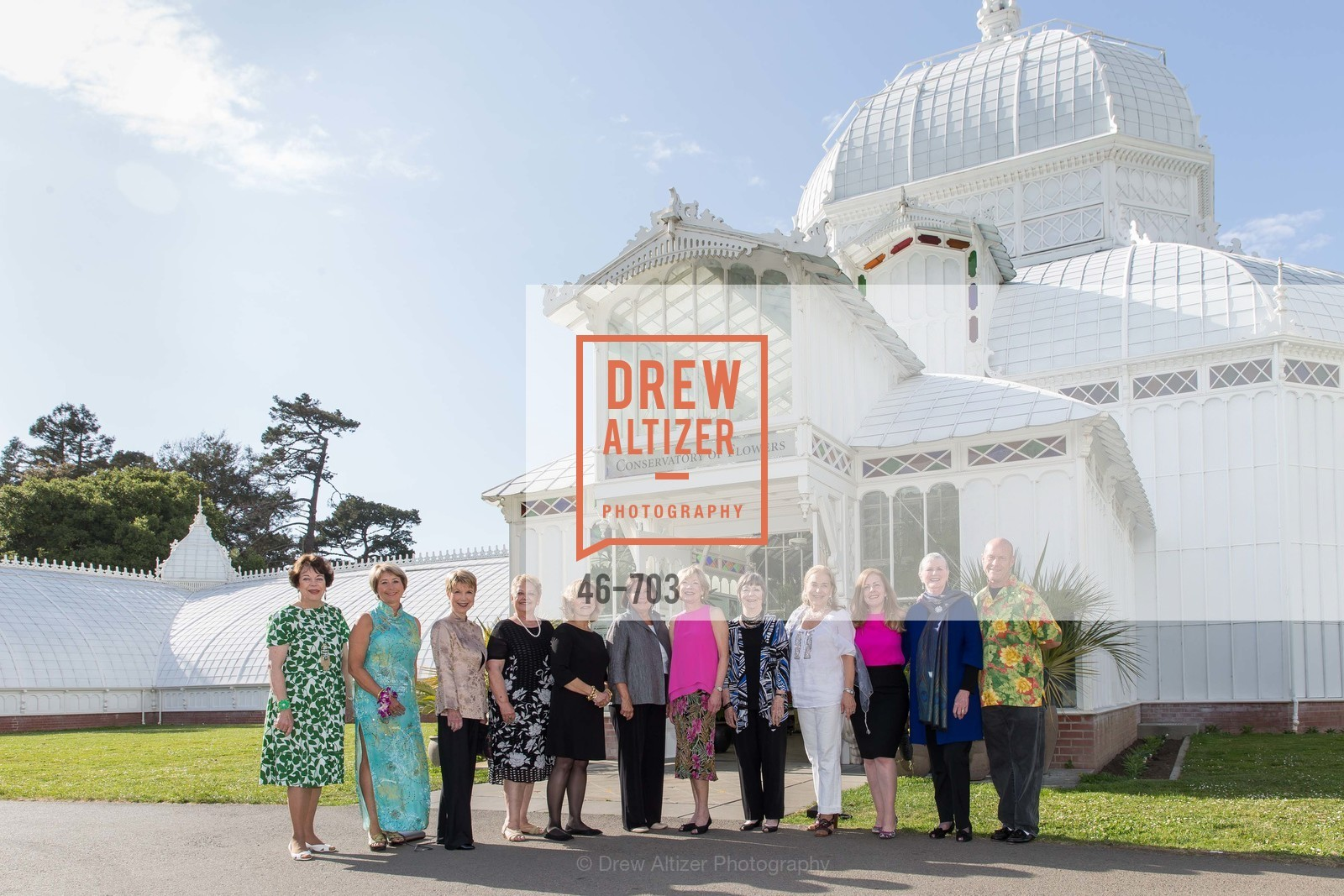 Ann Colvin, Terry Nevin, Martha Woollomes, Betty Packard, Sharon Collier, Terry Dolan, Jane Scurich, Donna Ellis, Natasha Hopkinson, Betsy Nichols, Pat Hanson-Thomson, Steven Brown, CONSERVATORY OF FLOWERS Presents